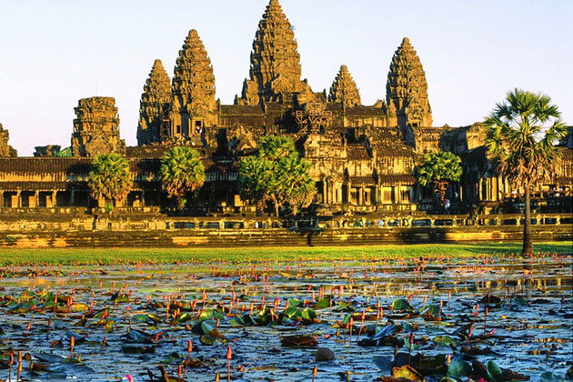 Angkor Wat - when is best time to visit cambodia