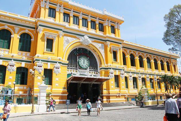 Central Post Office - vietnam luxury travel