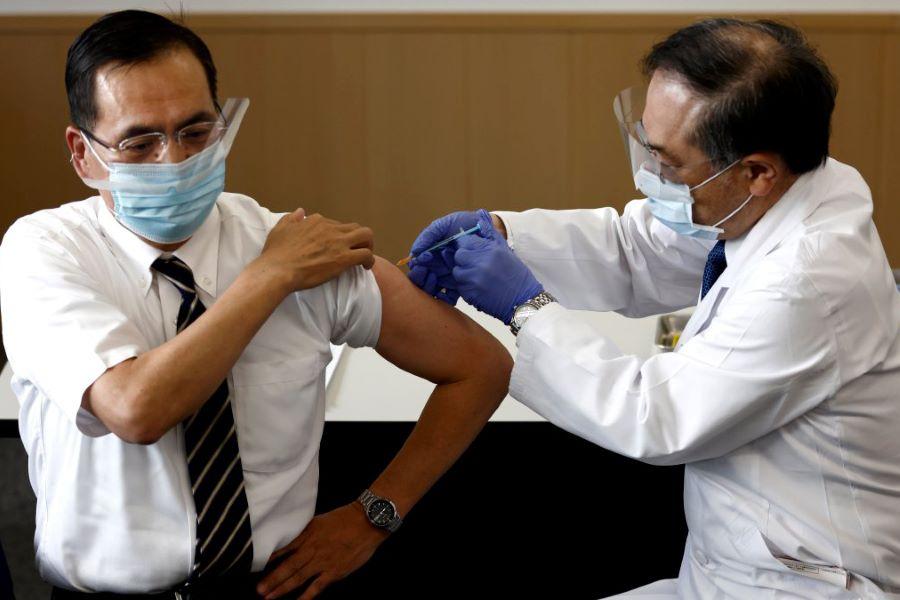 Japan Kicks off COVID-19 Vaccination Campaign