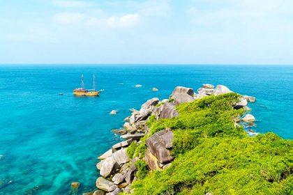 Kyat Mauk island