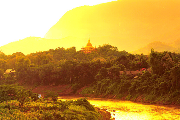Monsoon is not the best time of the year visit laos