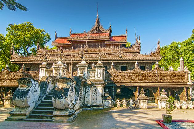 Shwenandaw Kyaung - myanmar luxury private tours