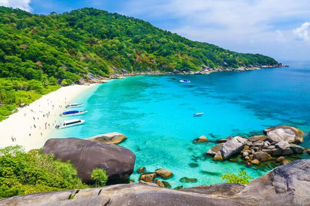 Similan Islands - well being in thailand