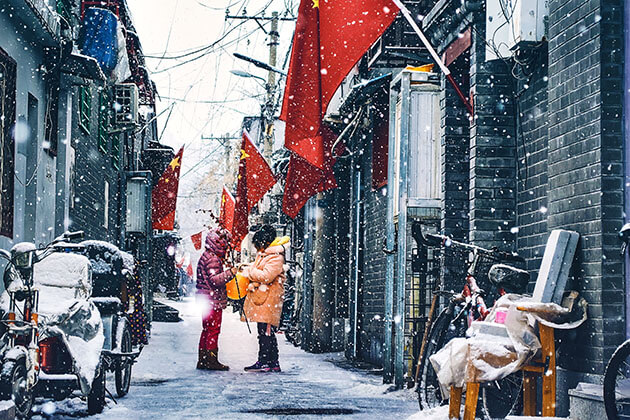 Winter is the best time to travel to China