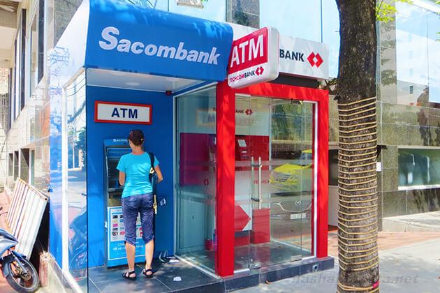 atms in vietnam - money of vietnam