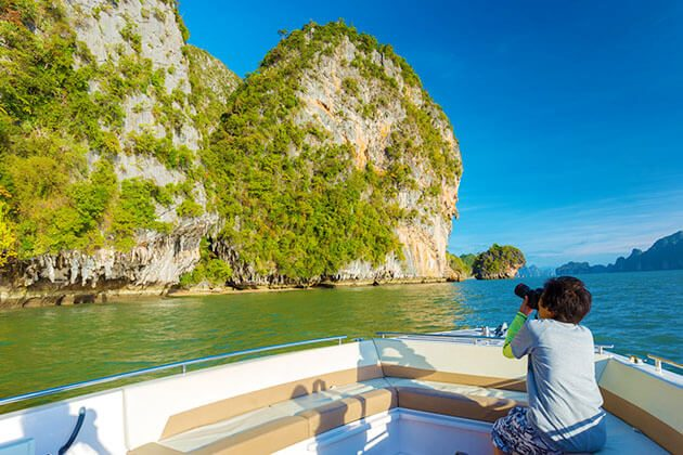 cruise in Phang Nga National Park