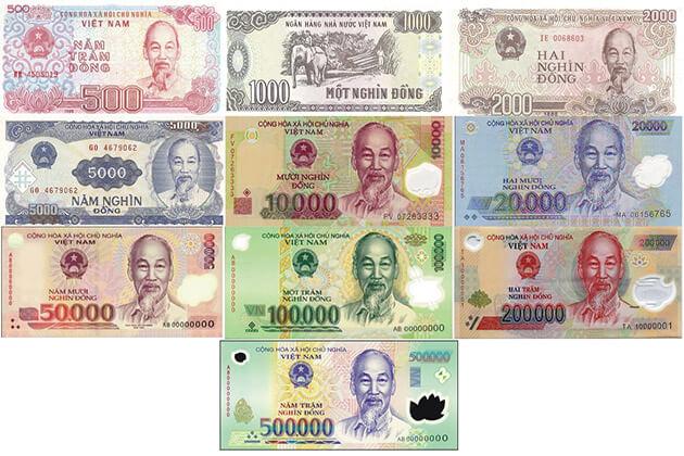 how to recognize vietnam money