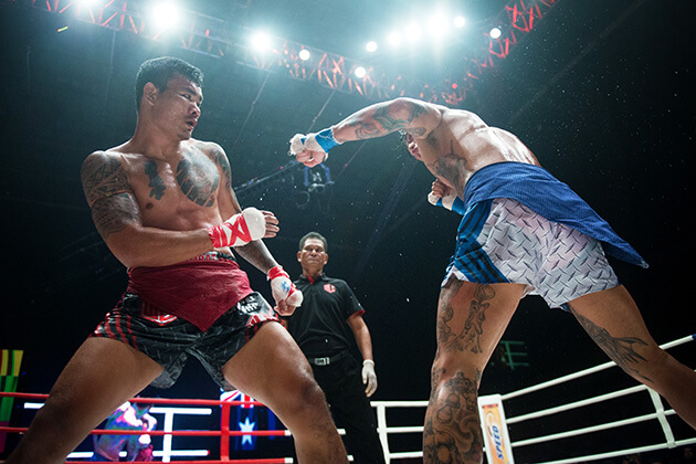 khmer boxing match - luxury tours in cambodia
