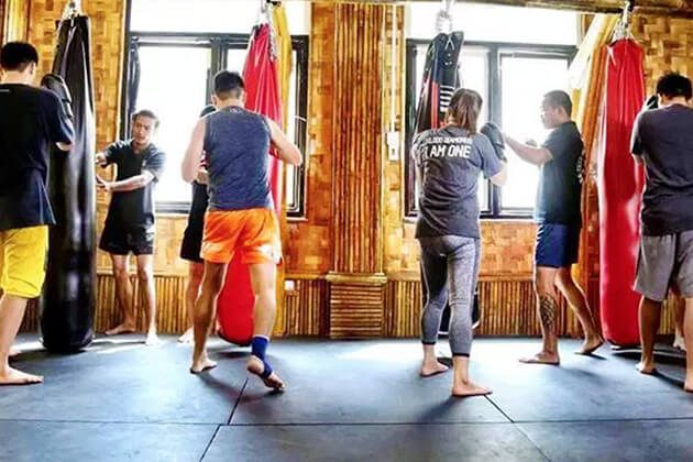 kickboxing lesson in myanmar