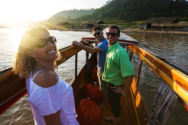 mekong river - luxury tour in laos
