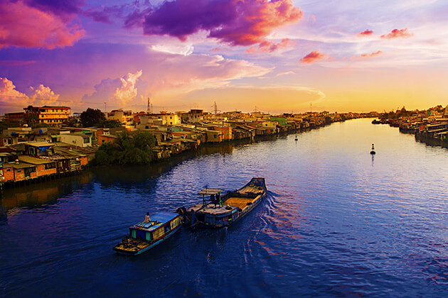 mekong river - vietnam luxury holiday packages
