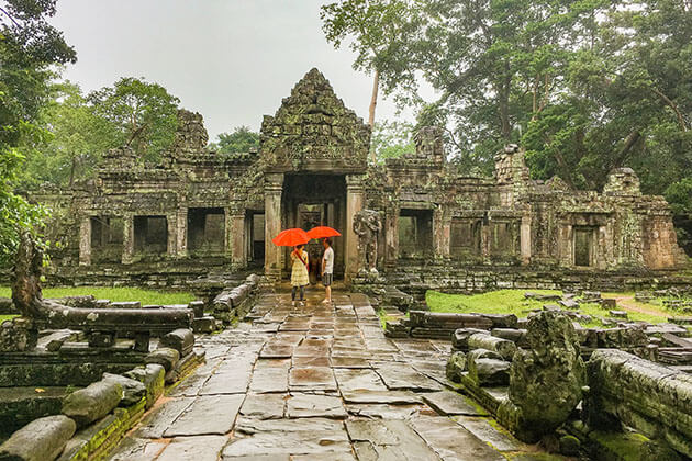 rainy season - the best time of year to visit cambodia