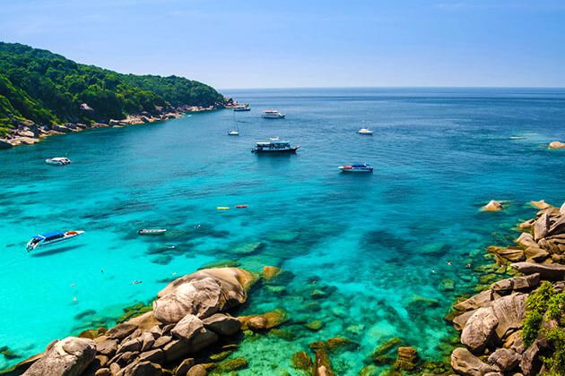 relax on Similan Islands