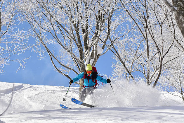 skiing in japan - best time of the year to visit asia