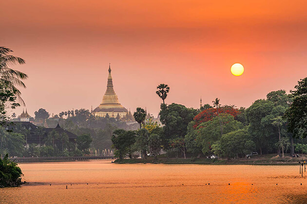 summer is the good time to visit Myanmar