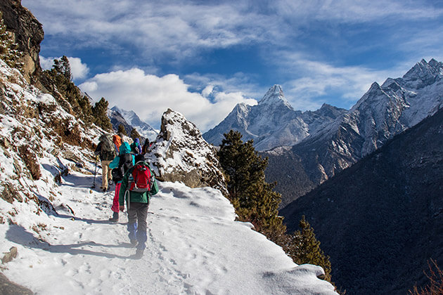 trekking - the best time to visit asia