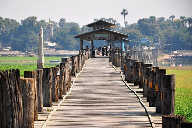 u bein bridge - luxury tours of myanmar